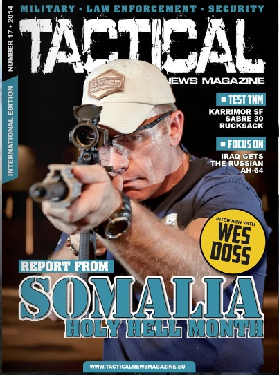 Tactical News Magazine 17 Cover