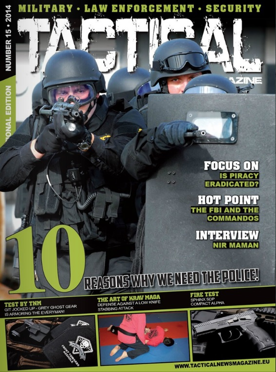 Tactical News Magazine15 Cover