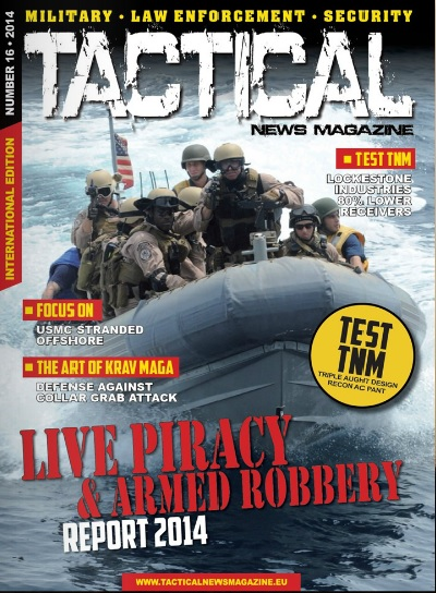 Tactical News Magazine 16 Cover