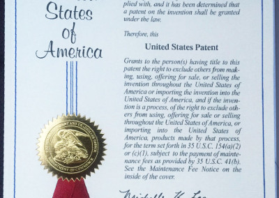 united_states_patent_and_trademark_certificate_for_shuki_knives