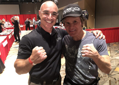 Master Shuki Drai with Benny the Jet Urquidez