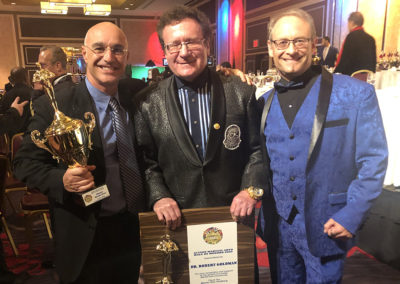 Master Shuki Drai with Dr. Robert Goldman and Dr. Neil Farber