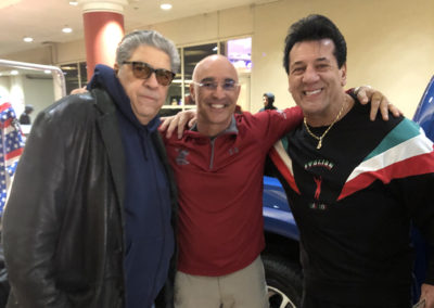 Master Shuki Drai with Vincent Pastore and friend